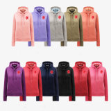 Donne spazzolate Hoodies del tessuto