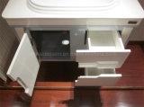 Vaidade material do gabinete de banheiro do PVC do projeto da forma (BLS-17322)