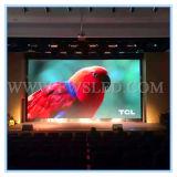 Afficheur LED P6 de publicité polychrome d'intérieur