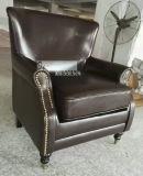Cadeira de couro da chegada nova, cadeira de clube, única cadeira do sofá (A888)
