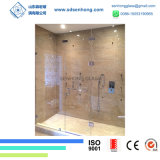 3/8 Säure ätzte das Schwingen, das Frameless ausgeglichenes Glas-Dusche-Tür schiebt