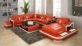 Disegno di lusso di memoria del sofà di Mdoern del cuoio di formato G8027