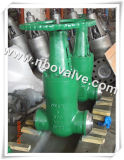 "セリウムHigh Pressure Seal Butt Welded Gate Valve (12 "" - 2500lb)"