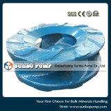 Части центробежного насоса Slurry запасные, высокая часть сплава крома, части полиуретана запасные