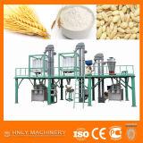 ムギの製粉の工場、小麦粉機械を完了しなさい