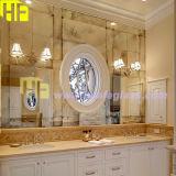 Miroir reflété décoratif d'antiquité de mur - miroir d'Anqitue pointillé par miroir du cru A010