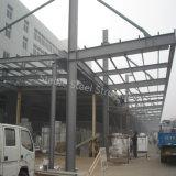 Costruzioni prefabbricate dell'acciaio del gruppo di lavoro della fabbrica di basso costo