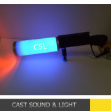 Nuova pistola LED del CO2 con il cambiamento di colore di RGB della batteria