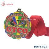Médaille d'or adaptée aux besoins du client de logo à vendre