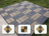 高品質の屋外の合成物WPCのDeckingのフロアーリングDIY