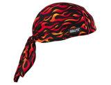 Soem-Erzeugnis passte Firmenzeichen gedruckten Baumwollschädel-Radfahrer-SchutzkappeBandana Headwrap an