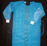Robe stérilisée jetable d'isolement de SMS