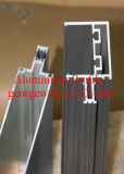 Profil en aluminium pour la porte coulissante/profil en aluminium d'extrusion