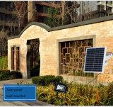 10W 1400 lumières solaires de jardin d'inondation de la CE IP65 DEL de lumens