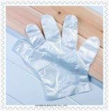 Перчатки пластичного полиэтилена сервиса связанного с питанием устранимые с карточкой доски