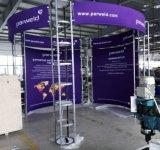 Messeen-beweglicher Aluminiumausstellung-Standardstand 3X3
