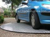 Plataforma giratória confidencial do carro do estacionamento da garagem