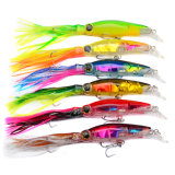14cmclassic Fishing Lure / Plastic Squid Lure / Spoon Lure / Fishing Bait 40g