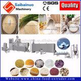 Sofortiger Reis-künstlicher Reis, der Maschinerie herstellt
