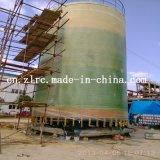 Serbatoio di combustibile industriale chimico verticale del serbatoio della vasca d'impregnazione di FRP/GRP