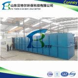 100m3/D Installatie van de Behandeling van afvalwater van het pakket de Binnenlandse, het Systeem van de Behandeling van het Afvalwater