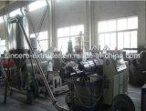 Линия горячей стороны PVC WPC дробя, машина Pelletizing