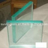 glace de porte en verre Tempered de verre trempé de 5-19mm