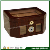 Boîte à cigares en bois personnalisée par qualité