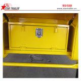 2 Gooseneck van assen 40FT de Aanhangwagen van de Chassis van de Container van het Skelet