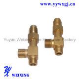 Adattatore adatto idraulico del tubo flessibile del gomito di CNC