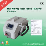 Portable de machine de déplacement de tatouage de 1064nm 532nm 1320nm Lase
