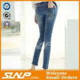 Pantalones vaqueros de las mujeres del diseño de la manera de la aptitud de la buena calidad