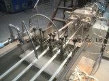 Extrudeuse en bois de bordure foncée de bande de PVC de couleur solide