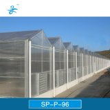 Estufa agricultural da placa de PC da Multi-Extensão de Sp-P-96 Venlo