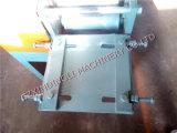 Roulis de porte d'obturateur de zinc formant la machine