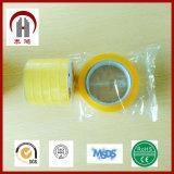 18mm * 18mm * 15m 80m SGS BOPP embalaje cinta adhesiva de OPP
