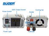 Инвертор 12V инвертора 1200W силы Suoer к 220V (SAA-1200A)