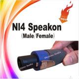 Do cabo audio do altofalante de Nl4 Speakon conetor fêmea