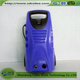 Limpieza del coche eléctrico para el uso de la familia