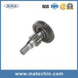 中国の製造者42CrMo4 4140は鋼鉄シャフトギアの鍛造材シャフトを造った