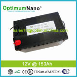 Bateria solar profunda do ciclo 12V 150ah LiFePO4