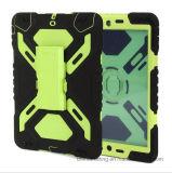 Pepkoo 새로운 변호인 iPad를 위한 군 거미 대 케이스 덮개