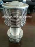 Steel inoxidable Filter Cylinder con Highquality