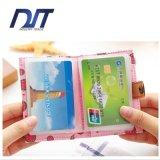Populäres Scheckkarte-Halter-Scheckkarte-Broschüren-Scheckkarte-Paket
