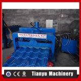 Azulejo de material para techos del hierro acanalado de la prensa del azulejo que hace hecho a máquina en China