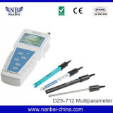 Mètre de qualité de l'eau de multiparamètre de contrôle de qualité de l'eau