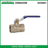 Made in válvula de bola de fontanería forjado de calidad de China Latón (AV10077)