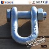 Wir Typ Schraube und Mutteren-Stahlabsinken schmiedeten Sicherheitskette-Fessel