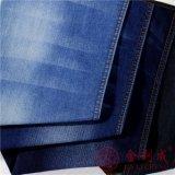 хлопок 8oz/Polyster/ткань джинсовой ткани Spandex
