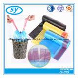 LDPE de Zwarte Vuilniszak Drawstring van de Plicht van de Ruk Plastic voor Bak